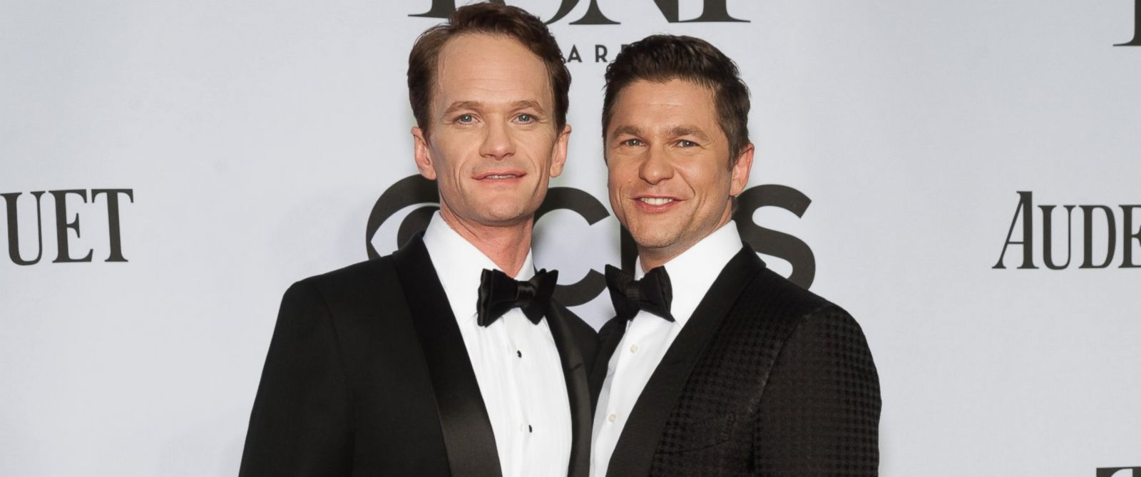 PHOTO: Neil Patrick Harris, left, and David Burtka, right, attend the American Theatre Wings 68th Annual Tony Awards at Radio City Music Hall on June 8, 2014 in New York City.