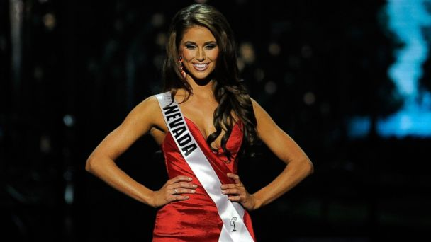 PHOTO: Miss Nevada USA Nia Sanchez competes in the 2014 Miss USA Competition on June 8, 2014 in Baton Rouge, La.