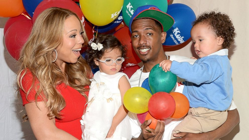 "PHOTO: Mariah Carey, Nick Cannon and their twins Monroe and Moroccan Cannon attend ""Family Day"" hosted by Nick Cannon at Santa Monica Pier in Santa Monica, Calif., Oct. 6, 2012."