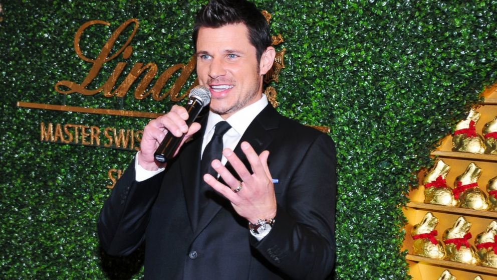 PHOTO: Nick Lachey attends the 5th annual Lindt Gold Bunny Celebrity Auction launch at The Peninsula Hotel, April 4, 2014, in New York City.