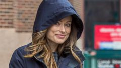 Olivia Wilde Stays Cozy in NYC