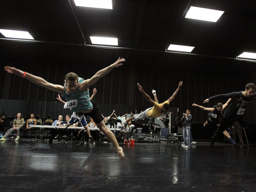 PHOTO: Dancers try out at the 82nd Academy Awards - Behind The Scenes - Dance Auditions held at Center Staging in this Jan. 22, 2010, file photo.