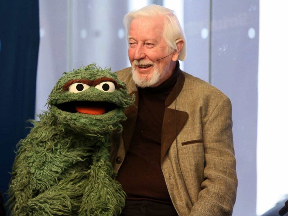 PHOTO: Caroll Spinney attends SiriusXMs Town Hall with original cast members from Sesame Street commemorating the 45th anniversary of the celebrated series debut on public television, Oct. 9, 2014, in New York.