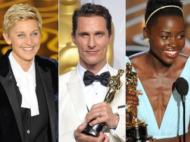 Best Oscar Moments: From Ellen to McConaughey