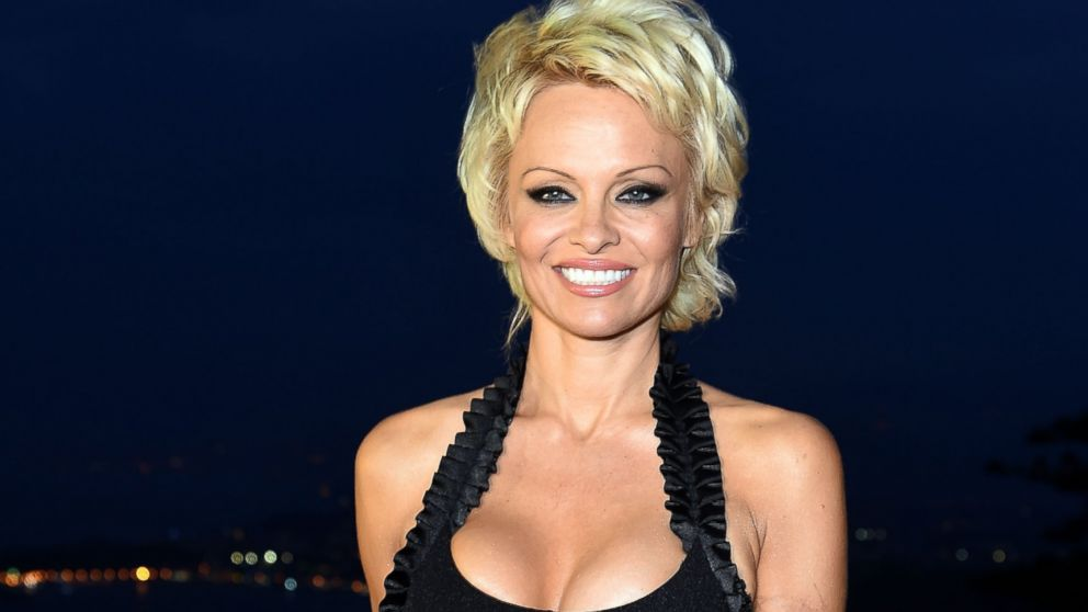 PHOTO: Pamela Anderson attends the 60th Taormina Film Fest, June 16, 2014, in Taormina, Italy.