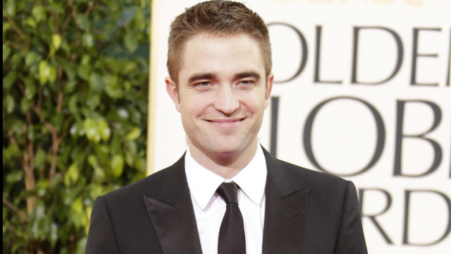 PHOTO: Robert Pattinson arrives at the 70th Annual Golden Globe Awards in Beverly Hills, California, Jan. 13, 2013.