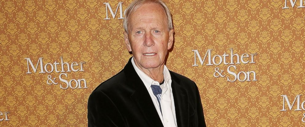 "PHOTO: Paul Hogan arrives at the opening night of ""Mother & Son"" at the Comedy Theatre, July 24, 2014, in Melbourne, Australia."