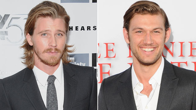 "PHOTO: At left, Garrett Hedlund attends the ""Inside Lleywn Davis"" premiere in New York, Sept. 28, 2013; at right, Alex Pettyfer arrives at the Los Angeles Premiere of ""Lee Daniels' The Butler"" in Los Angeles, Aug. 12, 2013."