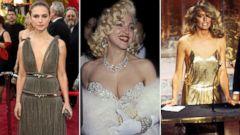 PHOTO: Natalie Portman, Madonna and Farah Fawcett, who had the best Oscar dress?