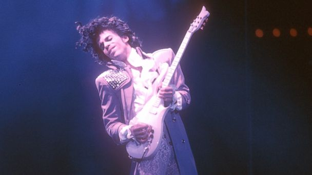 PHOTO: Prince performs live at the Fabulous Forum, Feb. 19, 1985, in Inglewood, California.