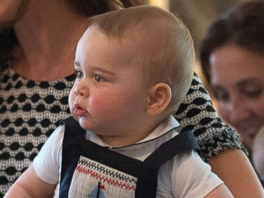 All the Details of What Prince George Wore to His Royal Playdate