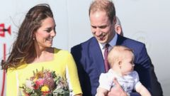 Prince William and Kate Middleton Bring Prince George to Australia