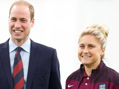 Prince William Receives a Sporty Gift for Princess Charlotte