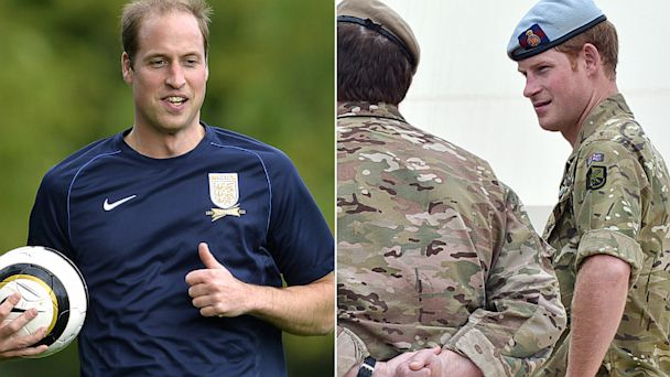 GTY prince william harry jef 131007 16x9 608 Royal Roundup: Prince William Plays Soccer, Prince Harry Charms Australia