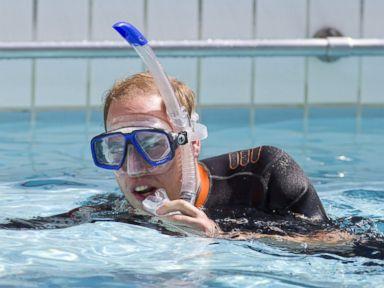 Photos: Prince William Takes a Swim