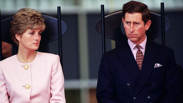 PHOTO: The Prince and Princess of Wales during a trip to Toronto