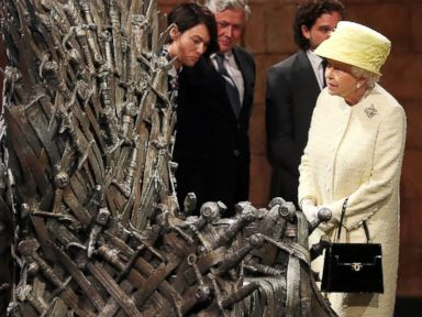 Queen Elizabeth Visits 'Game of Thrones' Set