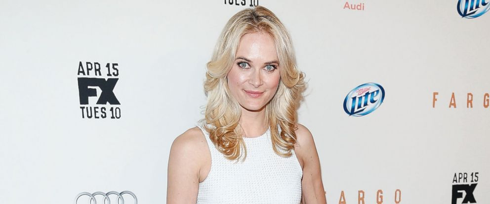 """PHOTO: Actress Rachel Blanchard attends the FX Networks Upfront screening of """"Fargo"""" at SVA Theater on April 9, 2014 in New York City."""