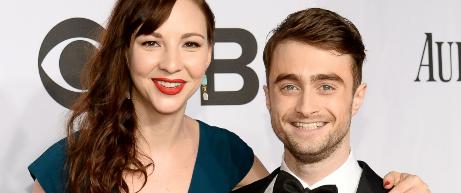 PHOTO: Erin Darke and Daniel Radcliffe attend the 68th Annual Tony Awards at Radio City Music Hall, June 8, 2014, in New York City.