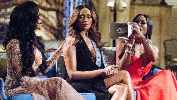 GTY real housewives atlanta sk 140421 16x9 608 Watch Porsha Williams, Kenya Moore Brawl on Housewives