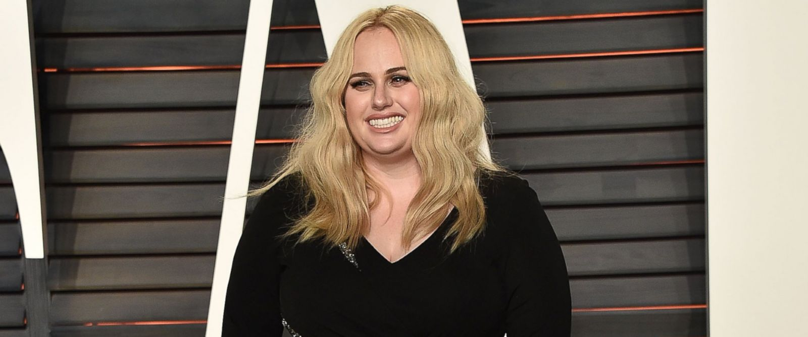 PHOTO: Actress Rebel Wilson arrives at the 2016 Vanity Fair Oscar Party Hosted By Graydon Carter at Wallis Annenberg Center for the Performing Arts, Feb. 28, 2016 in Beverly Hills, Calif.
