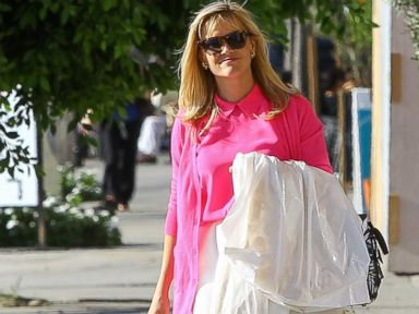 Photos: Reese Witherspoon Goes Pretty in Pink