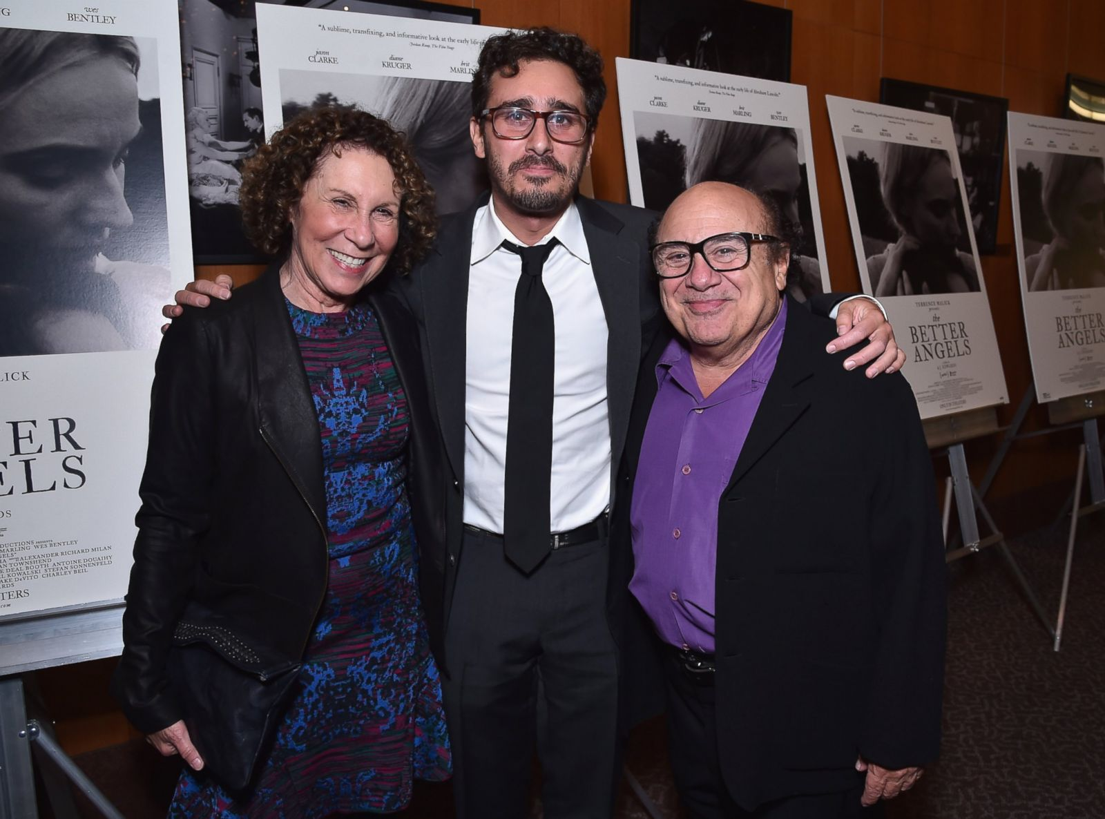 Photo of Rhea Perlman & her Son  Daniel J. DeVito