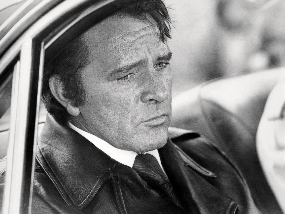 PHOTO: Welsh actor Richard Burton (1925 - 1984) as gangster Vic Dakin in Villain, directed by Michael Tuchner in 1971.