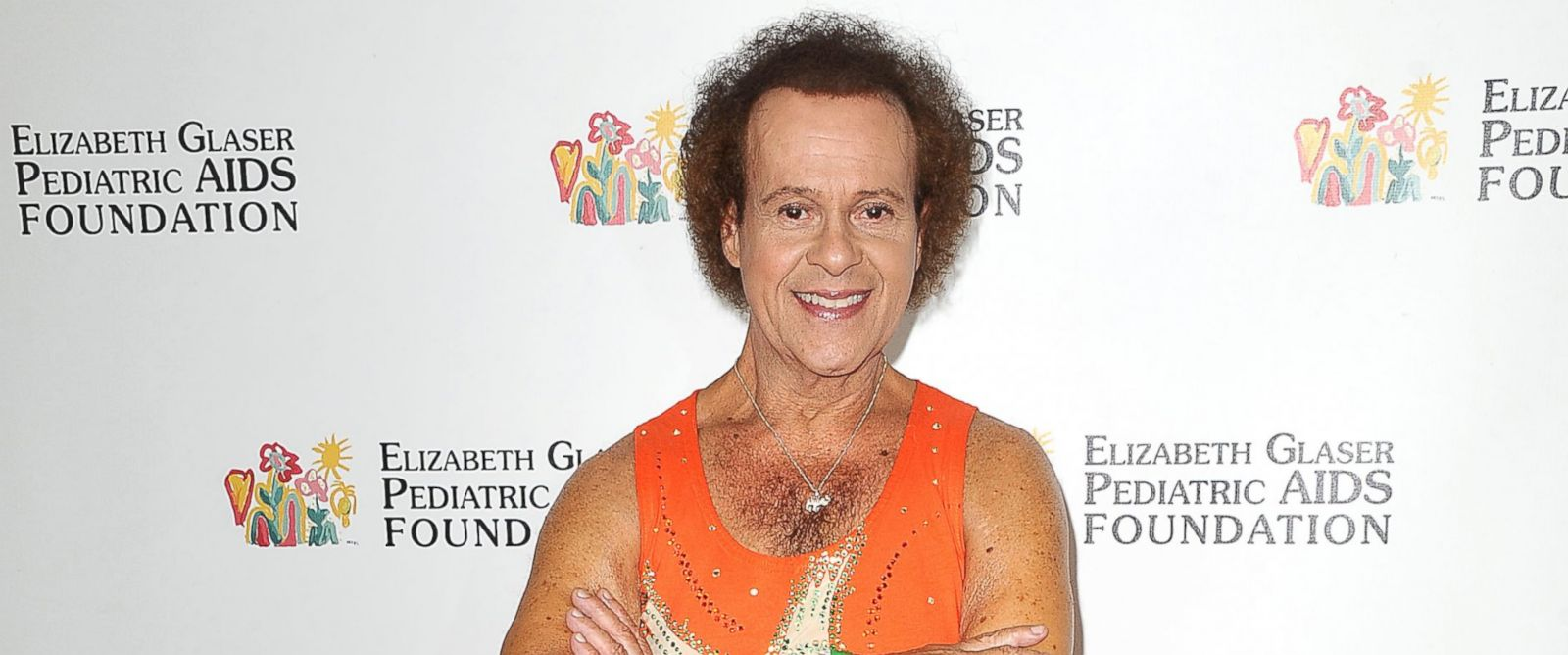 "PHOTO: Richard Simmons attends the Elizabeth Glaser Pediatric AIDS Foundations 24th annual ""A Time For Heroes"" at Century Park on June 2, 2013 in Los Angeles."