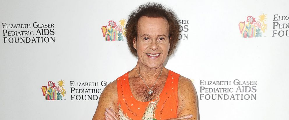 """PHOTO: Richard Simmons attends the Elizabeth Glaser Pediatric AIDS Foundations 24th annual """"A Time For Heroes"""" at Century Park on June 2, 2013 in Los Angeles."""