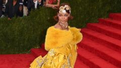 Rihanna is a Vision in Bright Yellow