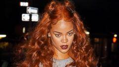Rihanna Stylishly Heads to Late-Night Recording Studio