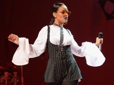 Rihanna Performs at Global Citizen Festival