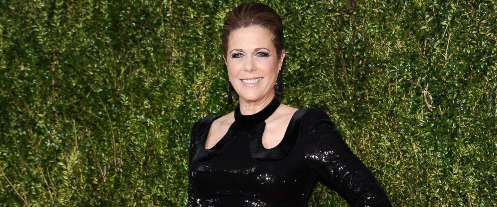 PHOTO: Rita Wilson attends the American Theatre Wings 69th Annual Tony Awards at Radio City Music Hall, June 7, 2015, in New York.