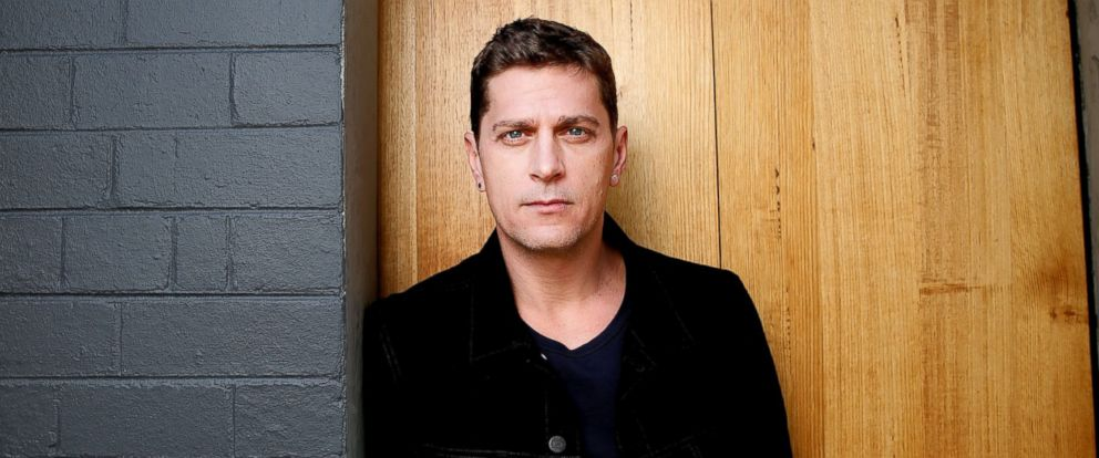 PHOTO: Rob Thomas poses during a photo shoot in Melbourne, Australia.