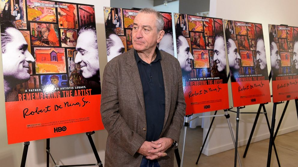 "PHOTO: Robert De Niro attends the HBO reception for ""Remembering the Artist Robert De Niro Sr."" at the 2014 Sundance Film Festival on Jan. 19, 2014 in Park City, Ut."