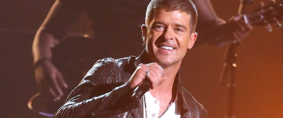 PHOTO: Robin Thicke performs onstage during the 2014 Billboard Music Awards held at MGM Grand Garden Arena, May 18, 2014, in Las Vegas.