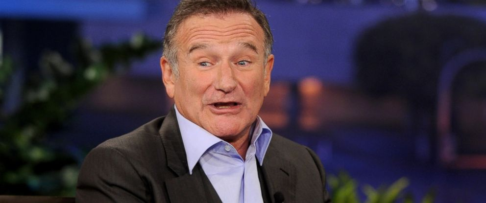"""PHOTO: Robin Williams is pictured on the """"Tonight Show With Jay Leno"""" on Nov. 16, 2011 in Burbank, Calif."""