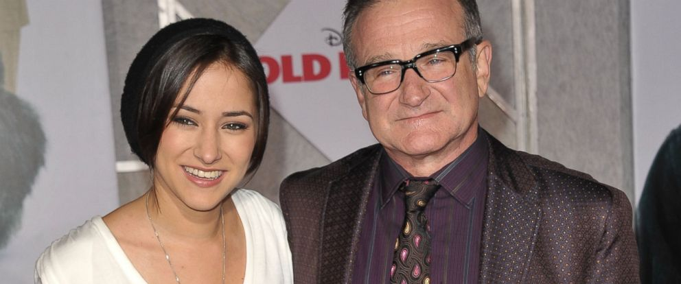 "PHOTO: Zelda Williams, left, and Robin Williams, right, arrive at the ""Old Dogs"" premiere on Nov. 9, 2009 in Hollywood, Calif."