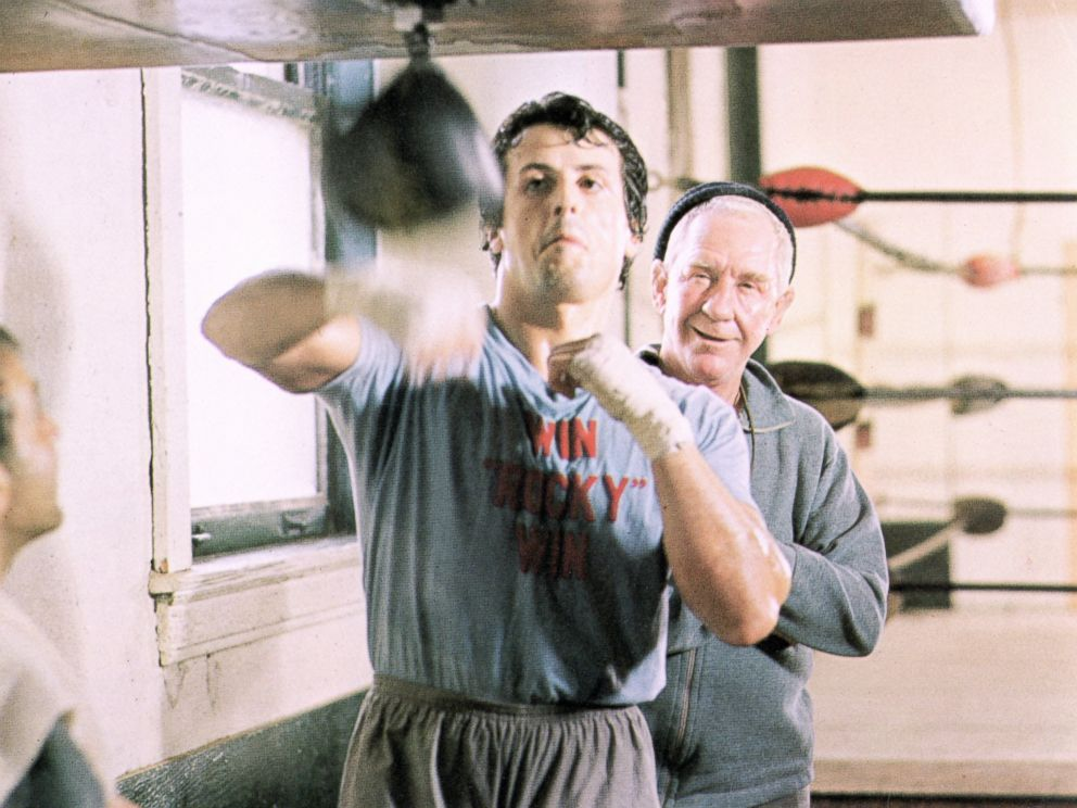 PHOTO: Sylvester Stallone in a scene from the movie Rocky.