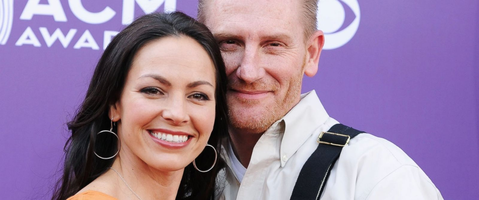 PHOTO: Musicians Rory Lee Feek and Joey Martin Feek of Joey & Rory arrives at the 48th Annual Academy of Country Music Awards, April 7, 2013 in Las Vegas. Nevada.
