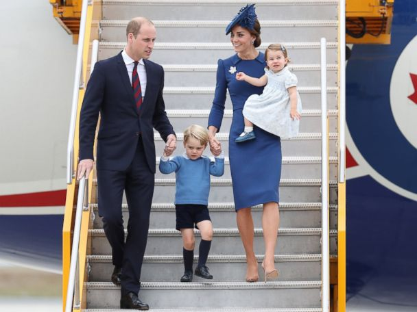 Prince William, Princess Kate and Family Begin Royal Tour of Canada