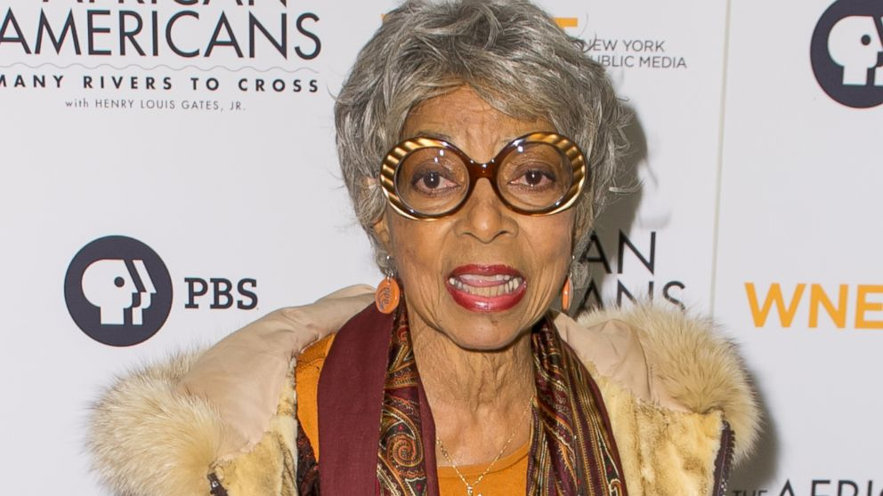 "PHOTO: Ruby Dee attends the ""The African Americans: Many Rivers to Cross"" screening at The Paris Theatre, Oct. 16, 2013, in New York City."