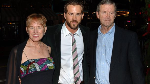 GTY ryan reynolds dad jtm 131112 16x9 608 Ryan Reynolds on His Fathers Parkinsons: My Dads Hanging in There