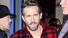 Ryan Reynolds - New Father and Hottest Lumberjack Ever