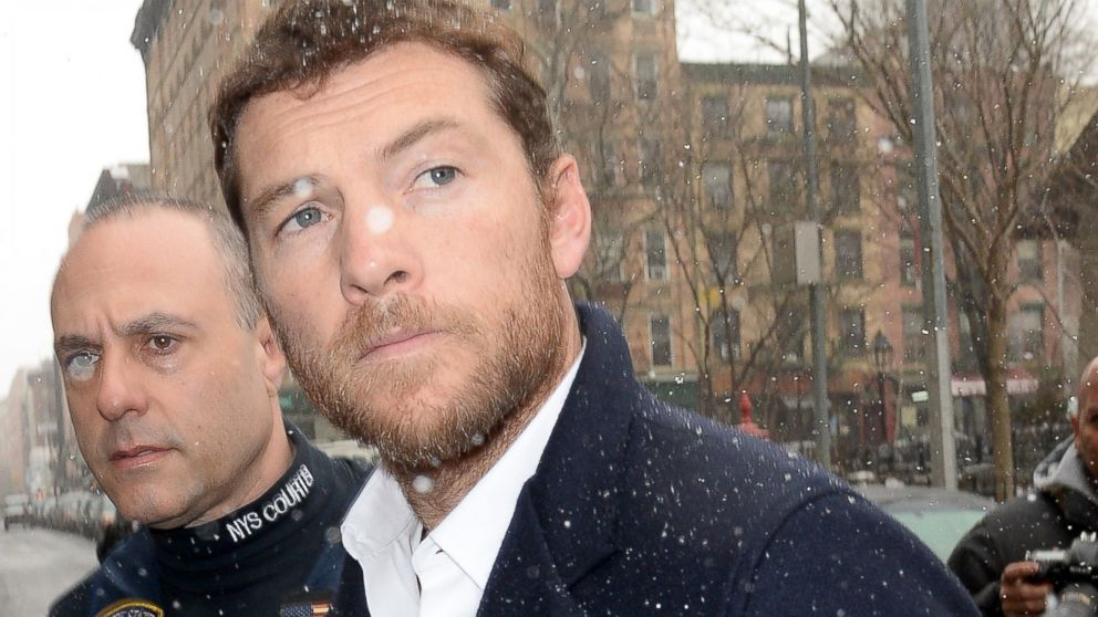 PHOTO: Sam Worthington is seen outside a court house, Feb. 26, 2014, in New York City.