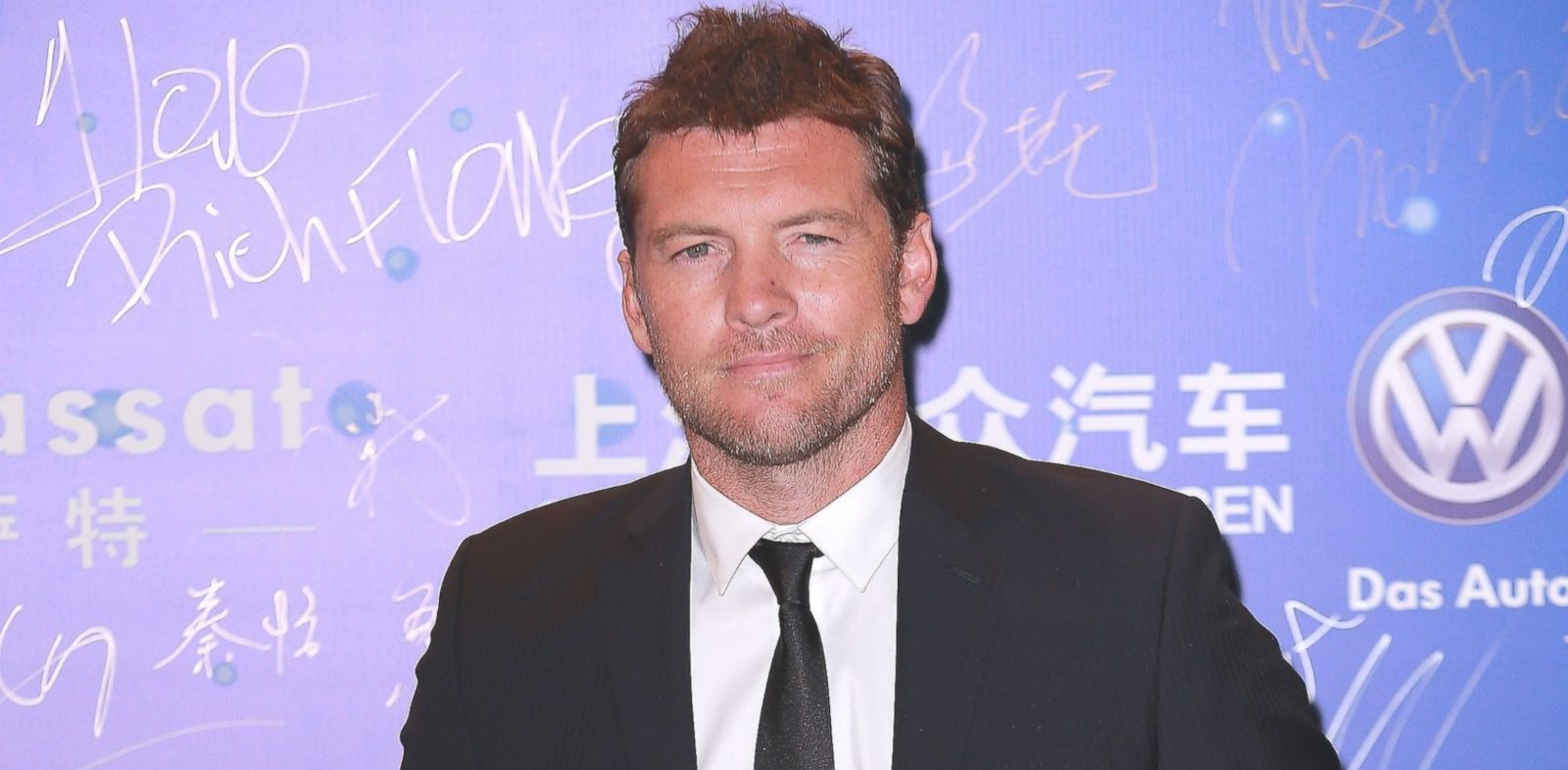 PHOTO: Sam Worthington is pictured on Oct. 6, 2013 in Macau.