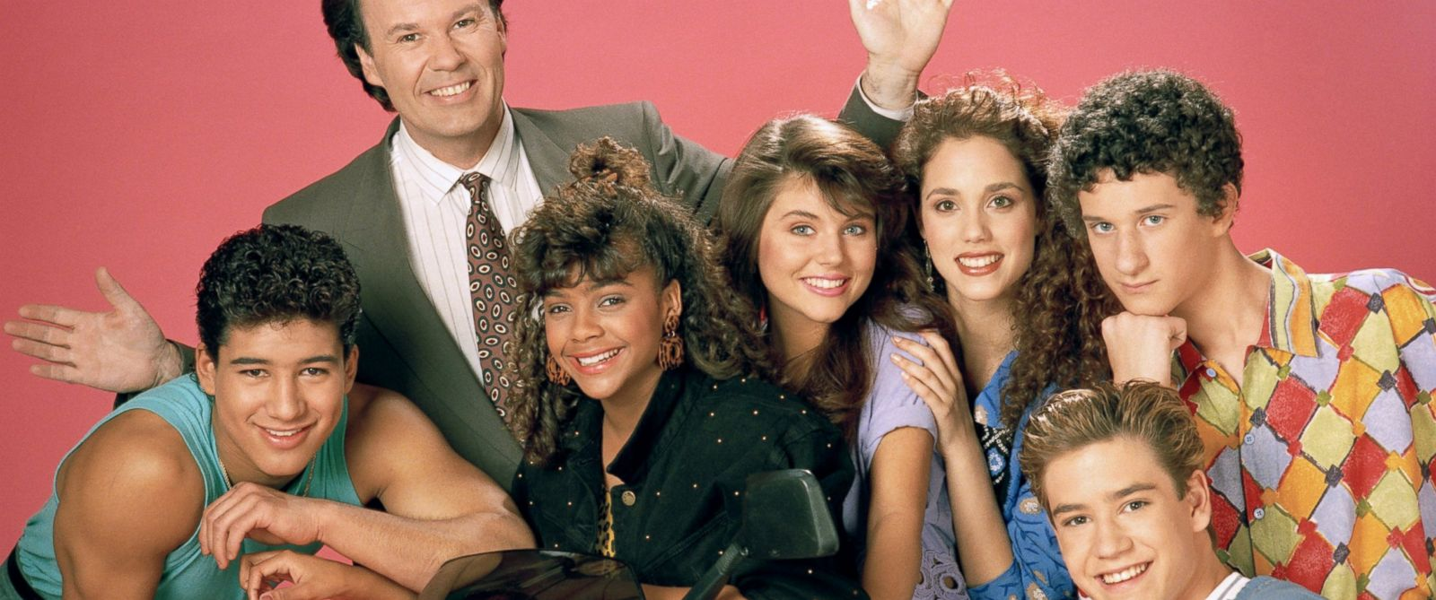 """PHOTO: The cast of """"Saved By The Bell."""""""