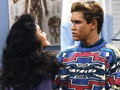 PHOTO: The Sweaters of Saved by the Bell