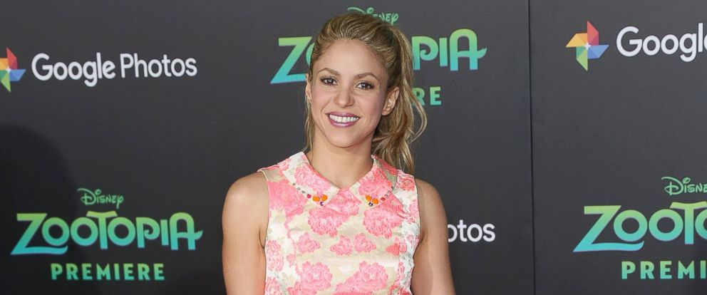 "PHOTO: Shakira attends the Premiere of Walt Disney Animation Studios ""Zootopia"" at the El Capitan Theatre, Feb. 17, 2016 in Hollywood, California."